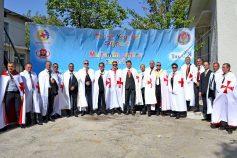 Acte de charité organisé par le Grand Prieur Magistrale de Moldavie, Son Excellence Tudorel Moraru